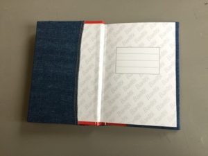 genbrug, notebook, denim notebook, notebook cover af denim