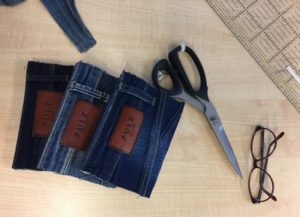 notebook, bevar, denim notebook