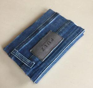 pulz jeans, denim notebook, notebook, genbrug, bæredygtighed