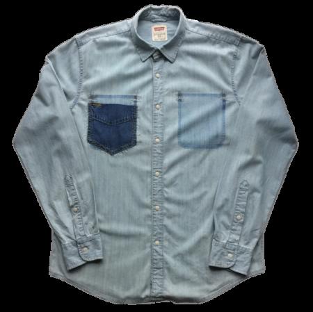 Vintage denim skjorte fra BEVAR